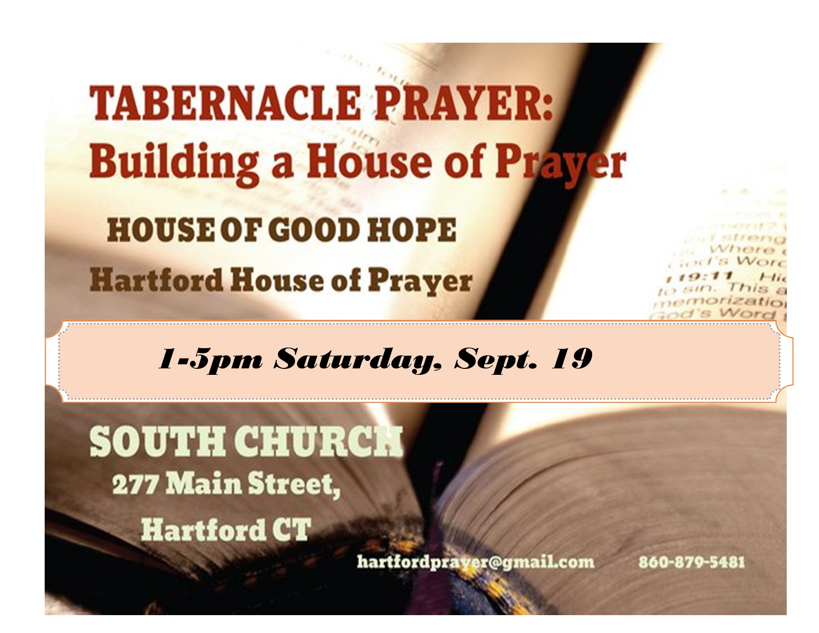 9 19 20 Tabernacle Prayer Poster